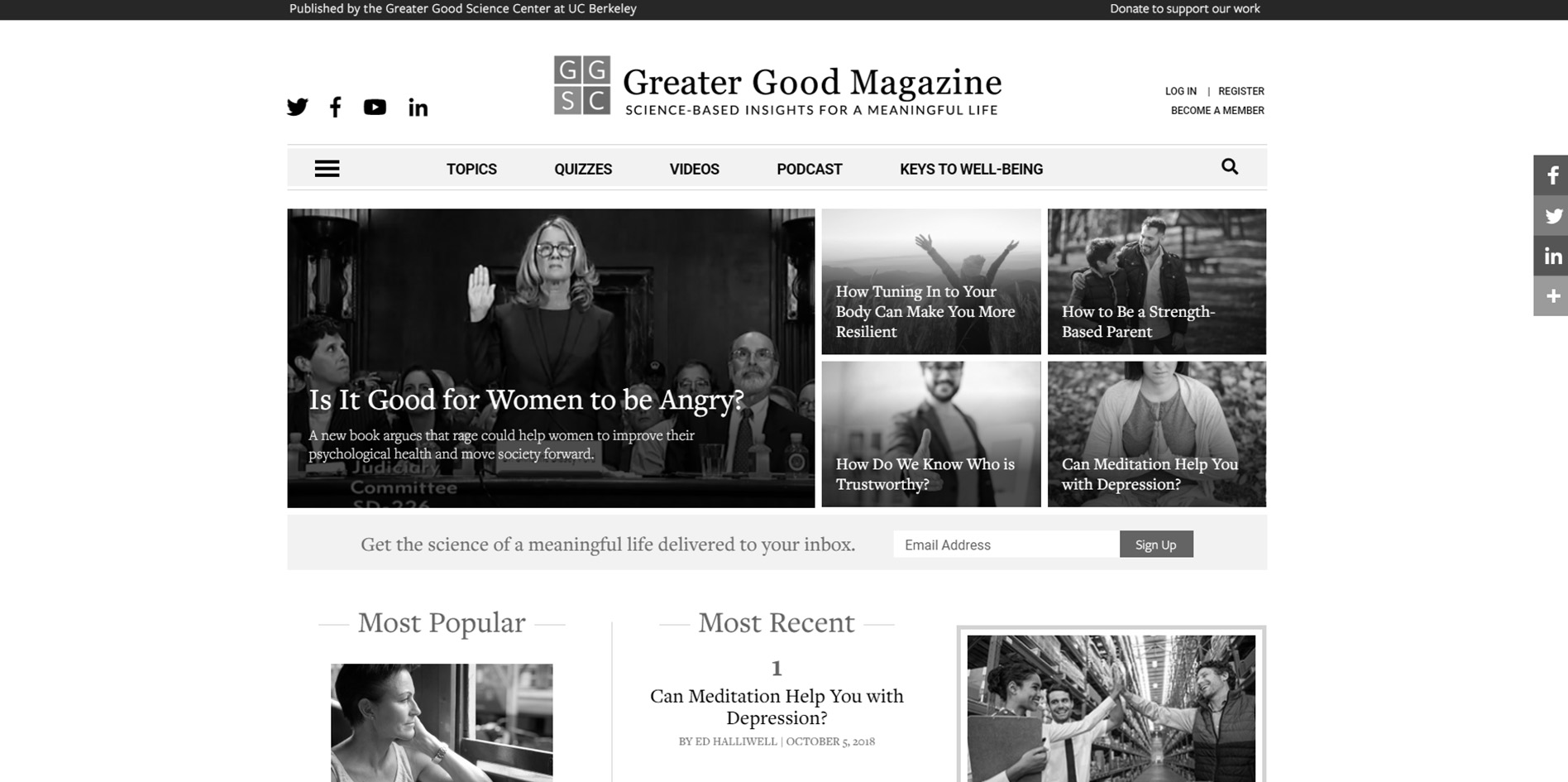Greater Good Magazine